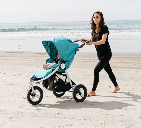 Bumbleride Indie All Terrain Stroller in Tourmaline Wave