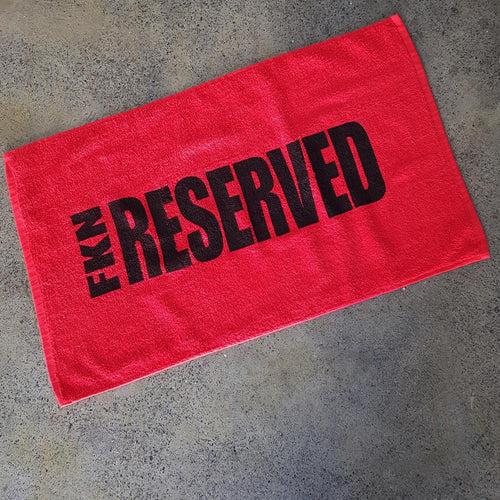 Red-reserved-towel-fkn-gym-wear-usa