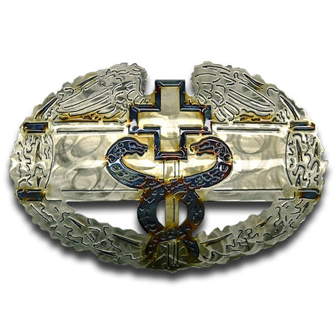 American Liquid Metal - Combat Medical Badge Sign