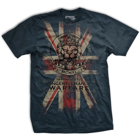 The Ministry of Ungentlemanly Warfare Ultra-Thin Vintage T-Shirt