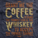 Coffee & Whiskey Prayer Vintage T Shirt