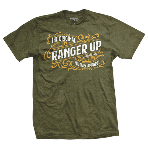 Vintage Ranger Up Green Shirt