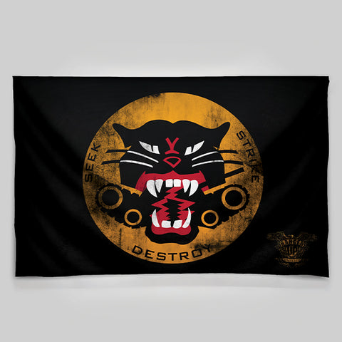 Tank Destroyer Wall Tapestry