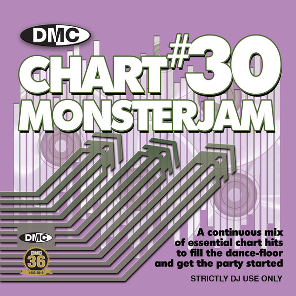 DMC CHART MONSTERJAM #30  From Warm Up To Floorfillers -A continuous mix - released June 2019