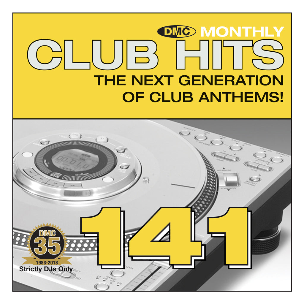 DMC CLUB HITS 141 - April 2018