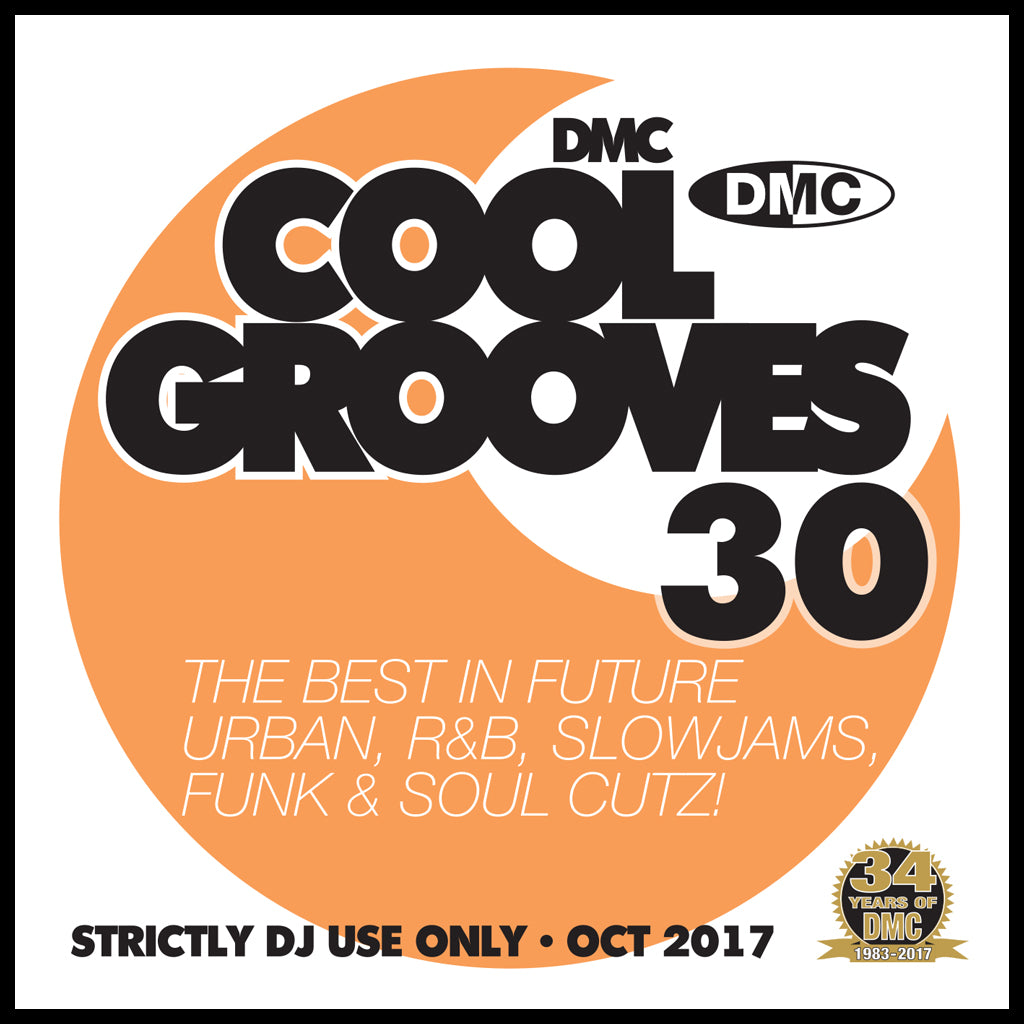 COOL GROOVES 30 - October 2017 release