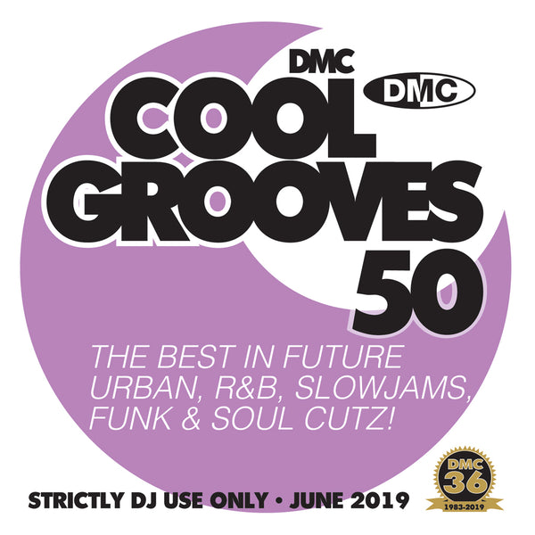 COOL GROOVES 50 - THE BEST IN COOLER HITS - June 2019 release