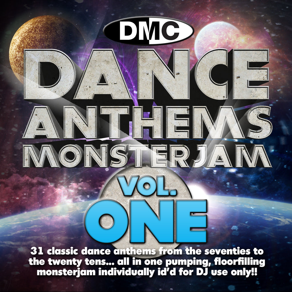 DMC DANCE ANTHEMS MONSTERJAM Vol 1 - NEW RELEASE