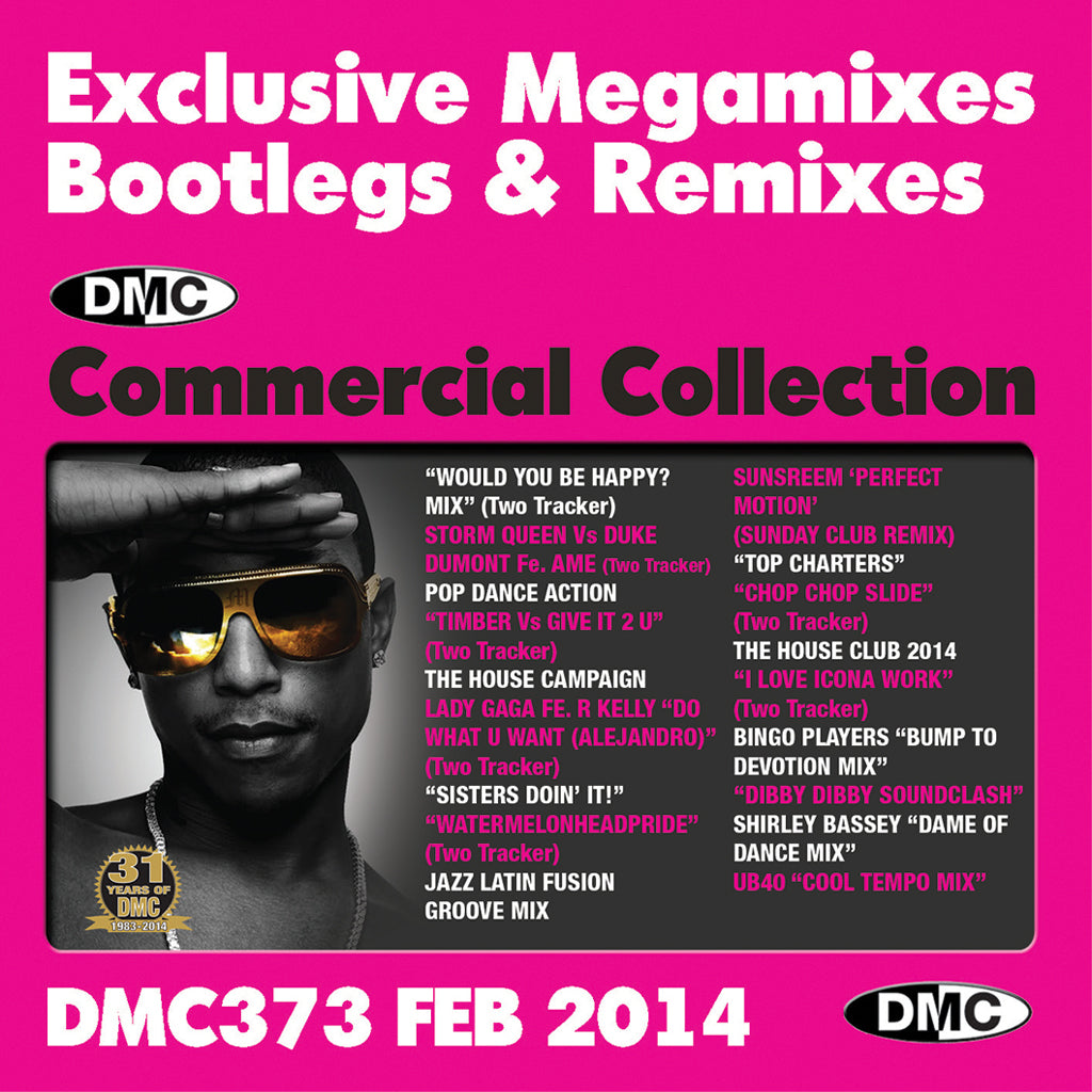 Commercial Collection 373 - Exclusive Mixes, Remixes and Two Trackers - New Release - February 2014