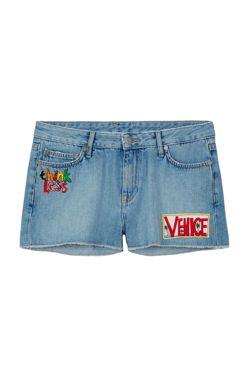 Venice Beach Patched Shorts