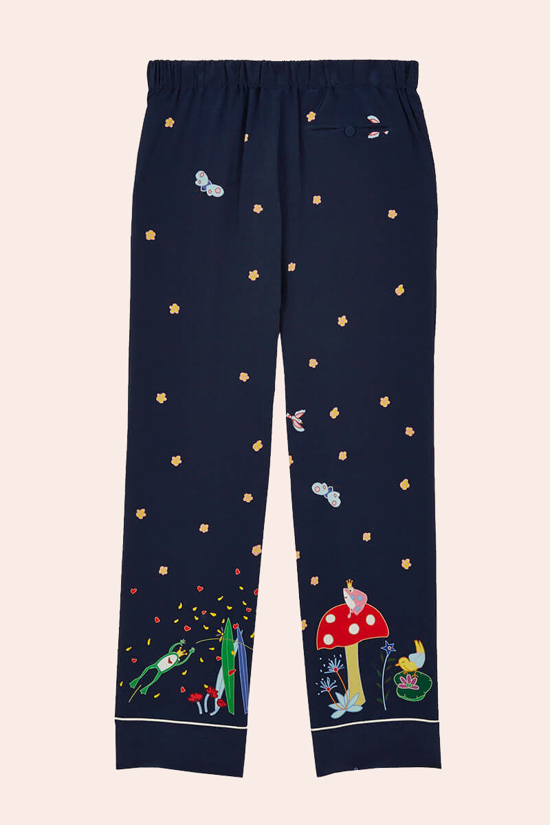 Fairy Tale Print Trousers