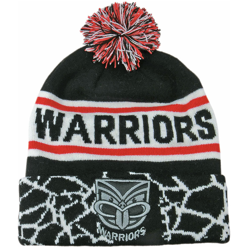 Warriors Quake Beanie