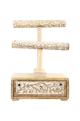 Carved Bangle Jewellery Stand