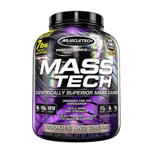 MuscleTech Mass Tech (Milk Chocolate - 7lbs)
