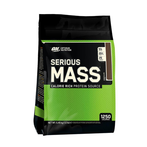 Optimum Nutrition Serious Mass (Chocolate - 12lbs)