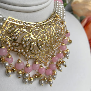 Youthful - Light Pink, Necklace Sets - THE KUNDAN SHOP