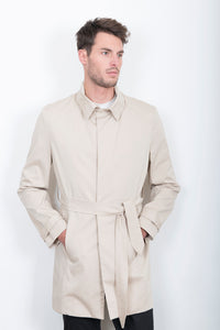 Sébastien Blondin trench coat veste jacket chic été summer coton cotton beige créateur designer nouveau new basique basic mode fashion homme man men men's world