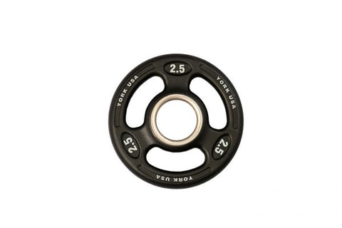 "Image of York Barbell ""ISO-Grip"" Urethane Plate"