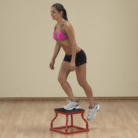 Image of Body Solid Plyometric Strengthening  Boxes