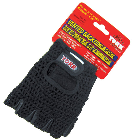 York Barbell Vented Back Fitness Glove