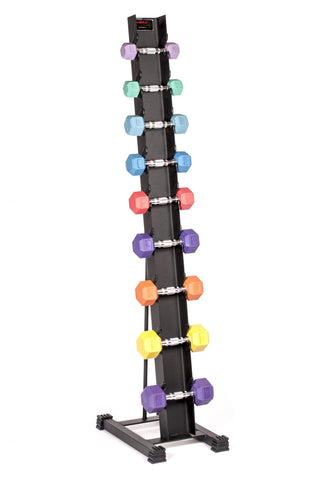 Image of York Rubber Hex Dumbbell Storage Rack