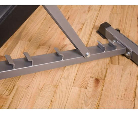 Image of BodyCraft F602 Flat/Incline/Decline Ladder Catch Utility Bench w/wheels