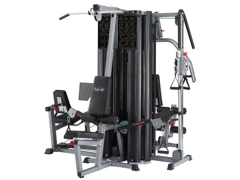Image of BodyCraft X4 Four Stack System, Cable Column & Leg Press included