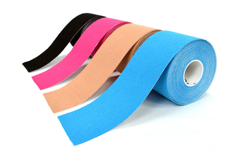 Strapping ruban adhesif kinesiologique kinesitherapeutique bandes musculaires sport kinesio tape k tape