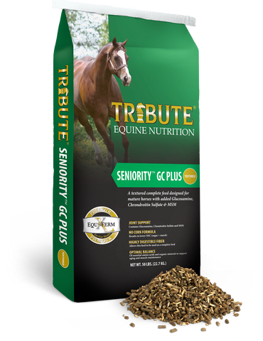 Tribute Seniority™ Textured GC Plus Horse Feed