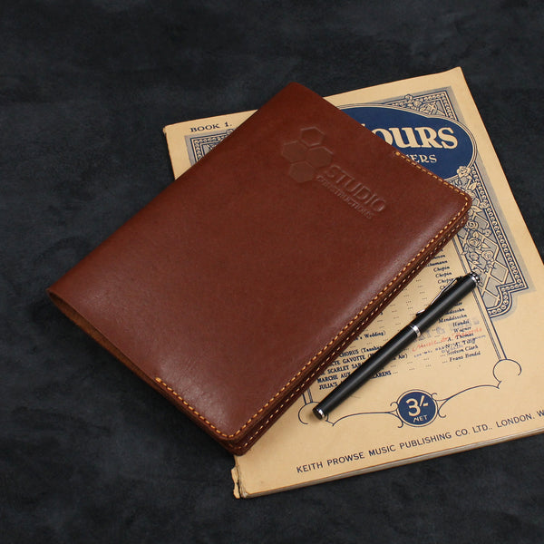 Simple Designed Refillable Leather Journal