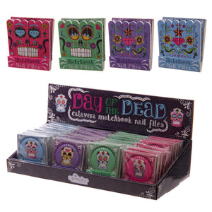 Day of the Dead Nail File Matchbook