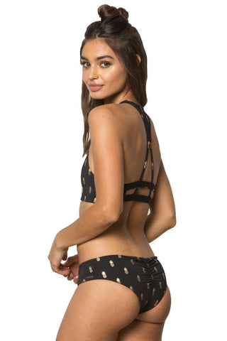 Honey Love Sting Monarch Binding Bralette Bikini Top