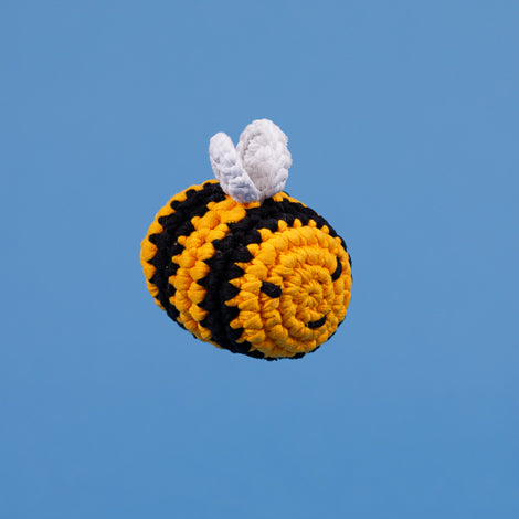 WARE of the DOG | Crochet Bumble Bee Toy