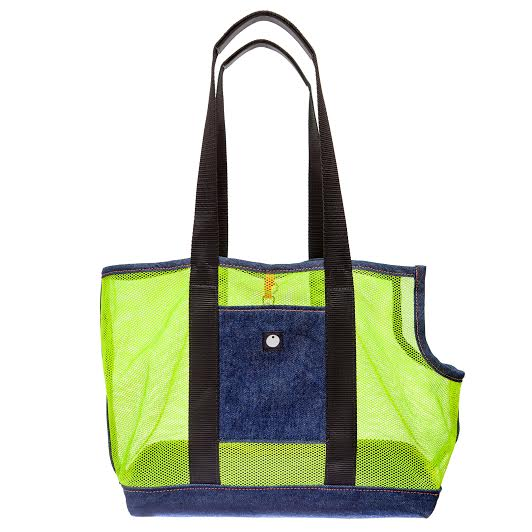 DOG & CO. | Denim & Mesh Cool Carrier Bag
