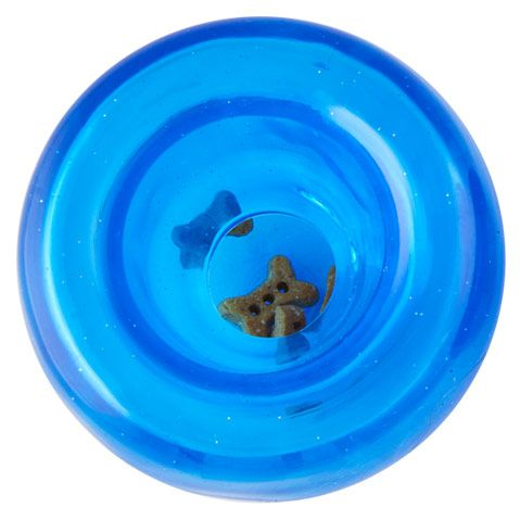 "PLANET DOG | Orbee-Tuff Lil' Snoop Interactive Toy in Blue (4"")"