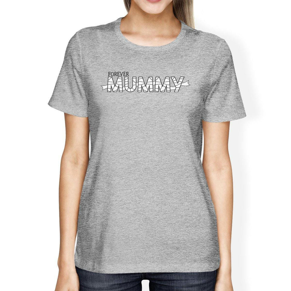 Forever Mummy Womens Grey Shirt