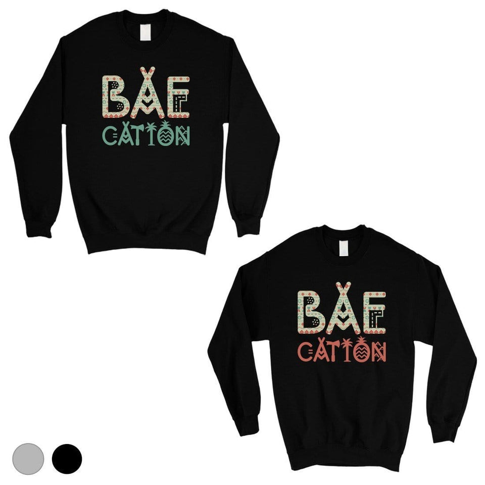 BAEcation Vacation Matching Sweatshirt Pullover Cute Couples Gift