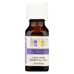 Aura Cacia - Pure Essential Oil Lavender Harvest - 0.5 Fl Oz