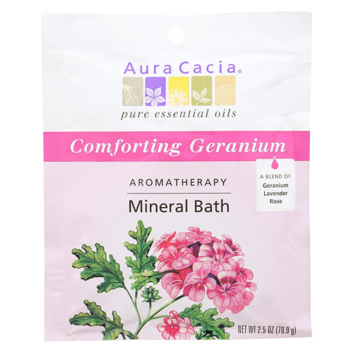 Aura Cacia - Aromatherapy Mineral Bath Heart Song - 2.5 Oz - Case Of 6