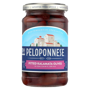 Peloponese Olives - Kalamata - Pitted - 6 Oz - Case Of 6