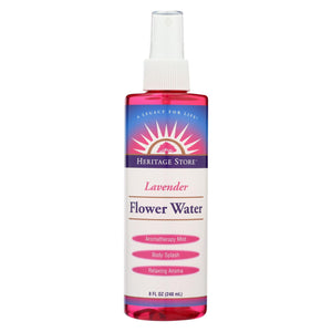 Heritage Products Flower Water Lavender - 8 Fl Oz