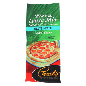Pamela's Products - Pizza Mix - Crust - Case Of 6 - 11.29 Oz.