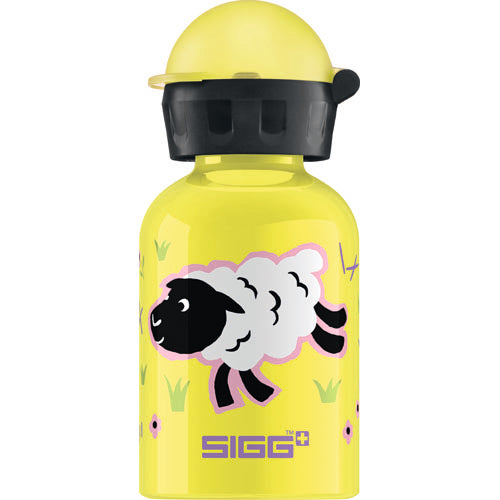 Sigg Water Bottle - Farmyard Sheep - 0.3 Liters