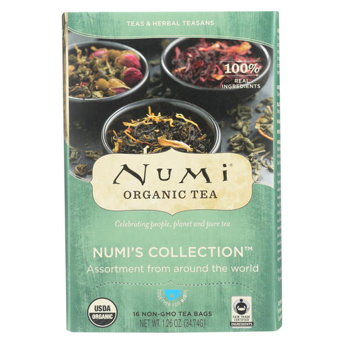 Numi Tea Tea - Assorted - Numi Collection - Case Of 6 - 16 Bag
