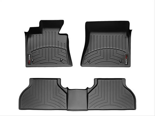 Weathertech Floor Liners-full Set Black 2013-2017 Ford Escape-13-16 C-max