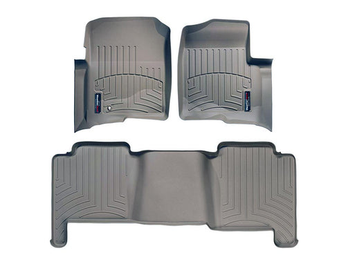 Weathertech Front And Rear Floorliners 04-08 Ford F-150-06-08 Lincoln Mark Lt Tan