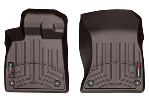 Weathertech First Row Floor Liners For 14-19 Cadillac & Chevy Suv-trucks (cocoa)