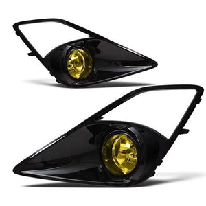 Winjet 12-14 Scion Fr-s Fog Lights - (yellow) - (wiring Kit Included)