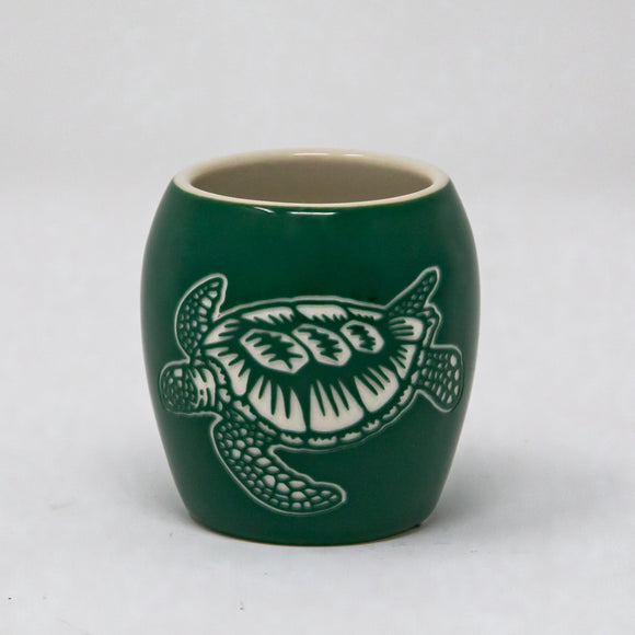 Pacific Whale Foundation Custom Etched Shot Glass - Turtle