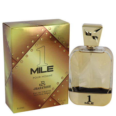 Eau De Toilette Spray 3.4 oz, 1 Mile Pour Homme by Jean Rish